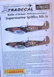 X48143  1/48 Supermarine Spitfire Mk.Ia Battle of Britain 1940 Pt.1 decals (6)